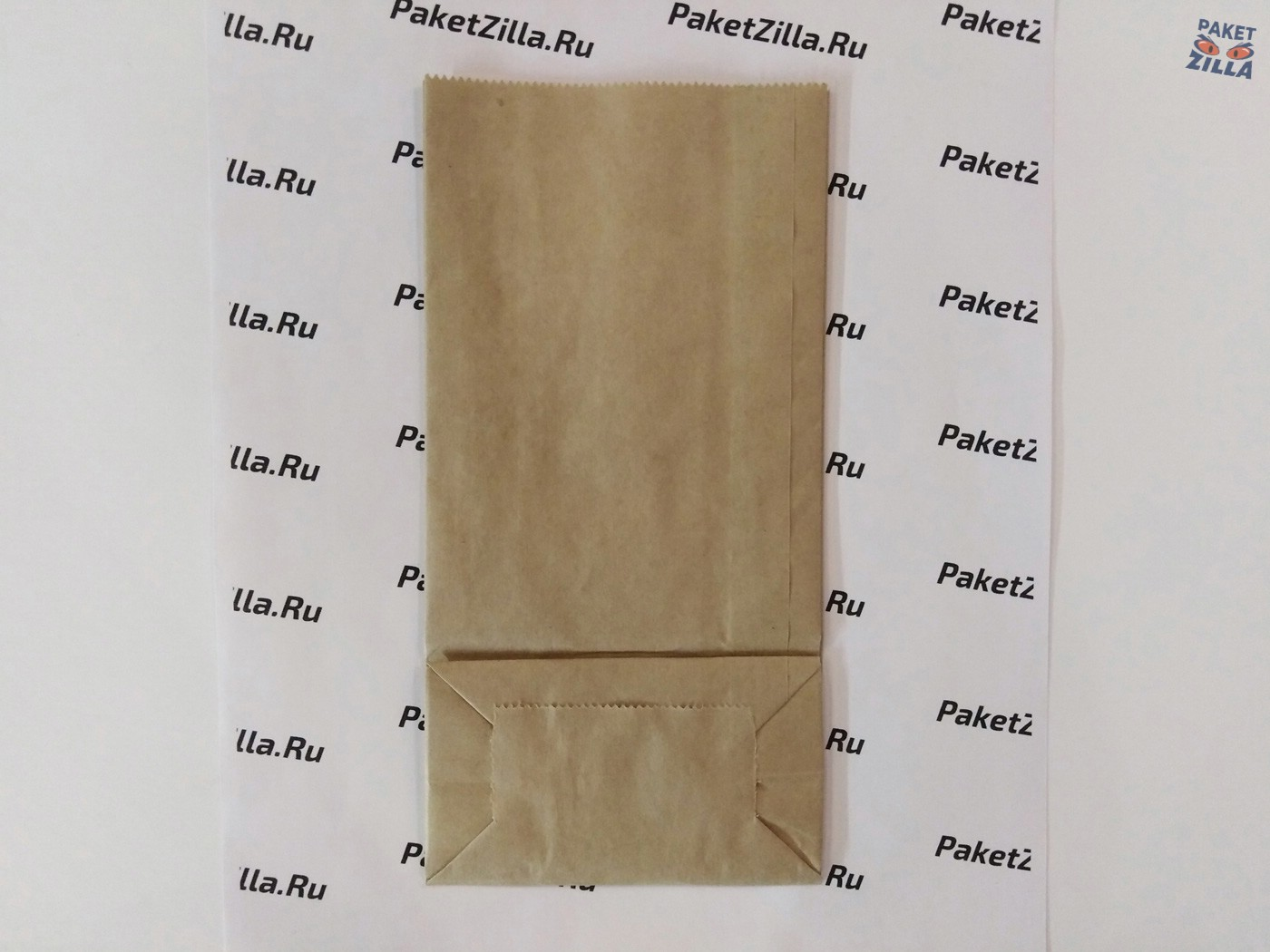 Крафт пакет 200 * 100 * 60 мм с окном. 2-х слойный. 2.