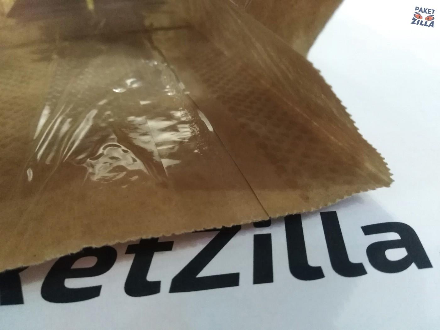 Крафт пакет 250 х 120 х 80 с круглым окном. 2-х слойный. 12.